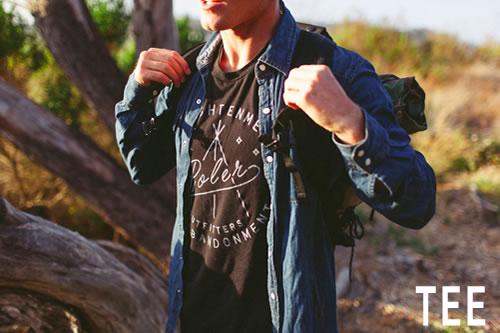 POLeR(ポーラー)/Tシャツ